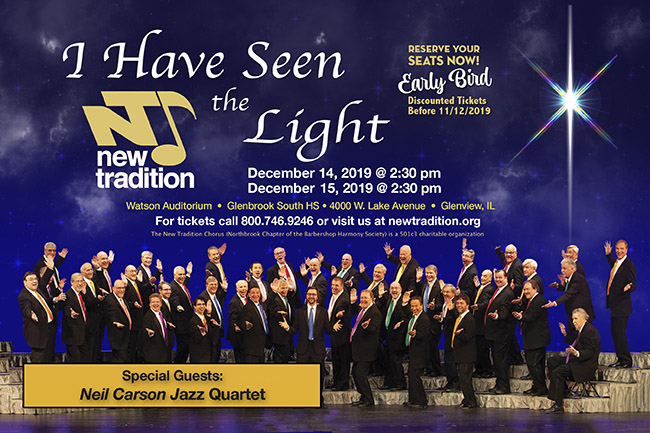 Mens a cappella harmony chorus open to all ages